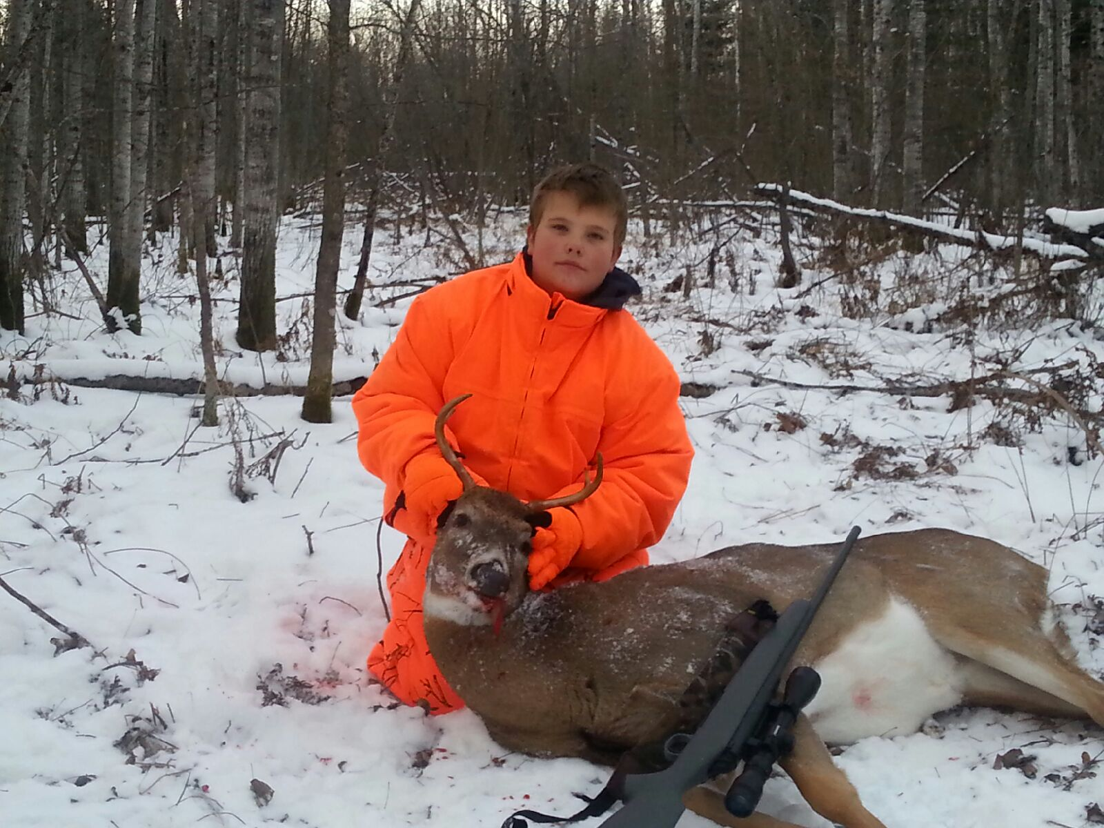 deer hunting with kids